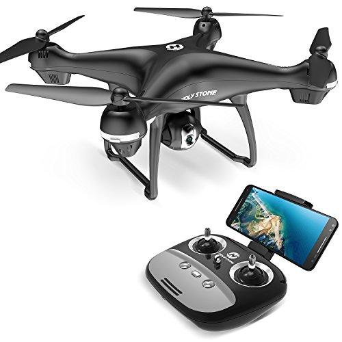 Holy Stone ドローン GPS搭載 1080P広角HDカメラ付き フォローミーモード オート...