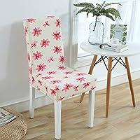 ホームストレッチダイニング椅子Siamese生地シートカバー One Size 1673