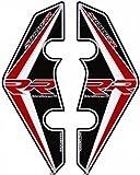 MOTOGRAFIX(モトグラフィックス) FRONT FENDER KIT S1000RR 15-17 ブラック/レッド/ホワイト MT-BFF03KRW