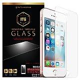 Patchworks iPhone SE ガラスフィルム ITG Silicate 【 高品質 強化ガラス 9H オンライン専用パケ 】 アイフォン 5 5s SE ガラスフィルム