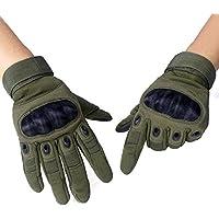 Unigear タクティカル グローブ サバゲー 手袋 サバイバルゲーム サイクリング 自転車 登山 スポーツ アウトドアなどに最適 タッチパネル対応 全3色 S M L(Green M)