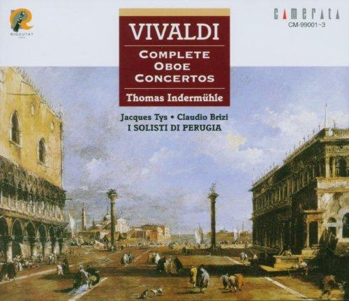 Vivaldi: Cpte Oboe Concertos