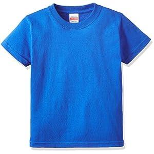 (ユナイテッドアスレ)UnitedAthle 5.6オンス ハイクオリティー Tシャツ 500102 [キッズ] 085 ロイヤルブルー 140