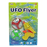 4.5in UFO Shooter w 2Saucers Asst ,ケースof 24