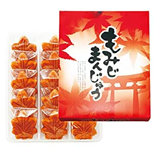 [広島お土産] もみじまんじゅう(こし餡) 1箱 (日本 国内 広島 土産) | 和菓子 通販