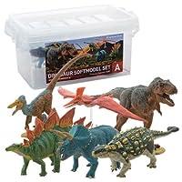 恐竜 ダイナソーソフトモデルセット A p-6730