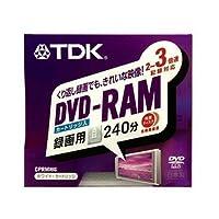 TDK DVD-RAM録画用 3倍速TYPE4ホワイトカートリッジ DVD-RAM240Y4K