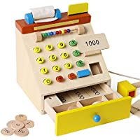 おままごと ごっご遊び お店屋さんごっこ 木製 木のおもちゃごっこ レジスター お買い物 子供のおもちゃ 誕生日 子供の日 プレゼント 入園祝い