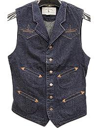 (ダブルアールエル) RRL 世界限定200着 リミテッドエディション 日本製デニム ベスト メンズ Limited Edition Denim Vest 並行輸入品 [並行輸入品]
