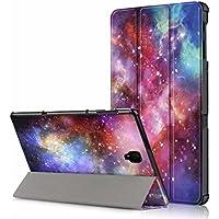 Galaxy Tab s410.5ケース、t830t835ケース、USTY軽量スリムPUレザースマート三つ折りスタンドカバー自動スリープ解除機能シェルfor Samsung Galaxy Tab s4sm-t830/ t83510.5インチタブレット2018リリース