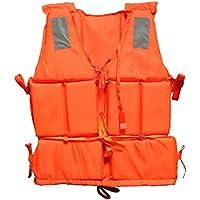 Nice Days(ナイス ディズ) 大人用オックスフォード救命胴衣 ライフジャケット 釣り オレンジ