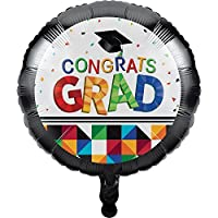 Fractal Fun 18 Graduation Foil Balloon [並行輸入品]