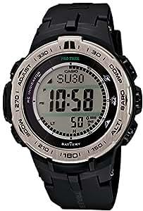 [カシオ]CASIO 腕時計 PROTREK Slim Line Series トリプルセンサーVer.3搭載 世界6局電波対応ソーラーモデル PRW-3100-1JF メンズ
