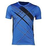 (ジーンズイアン)Jeansian 男性用 ファッショ メンズ Tシャツ 半袖 速乾性 LSL133 Blue M