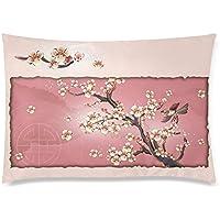 可愛い 子供 和柄 きれいな桜 模様 桜の花びら 花吹雪 座布団 50cm×72cm