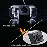 Dynavision バックカメラ リアカメラ(ブラック) 視野角度170° 防水 後方確認 駐車支援 高敏感/事前予防 車庫入れや狭い道も安心 取り付け簡,専用 B150 B160 B170 B180 B200 A Class W169 B Klasse T245 (モデル1スーパープロカメラ)