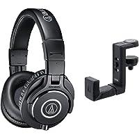 audio-technica プロフェッショナルモニターヘッドホン ATH-M40x ブラック スタジオレコーディング…