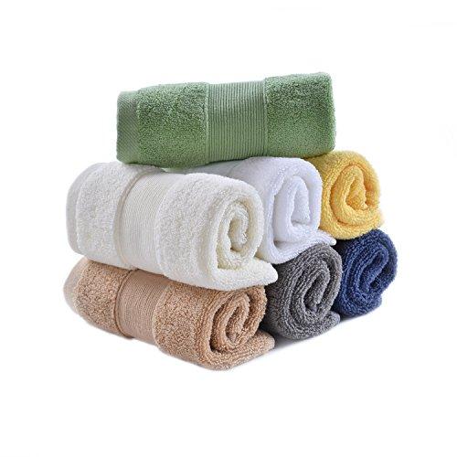ASKARI タオル ハンドタオル ハンカチタオル メンズ レディース ハンカチ7枚セット 綿100% 汗をかいたハンカチを拭く ビジネス 通勤 通学 吸水速乾 カジュアル 7色(全色セット) 80g/枚
