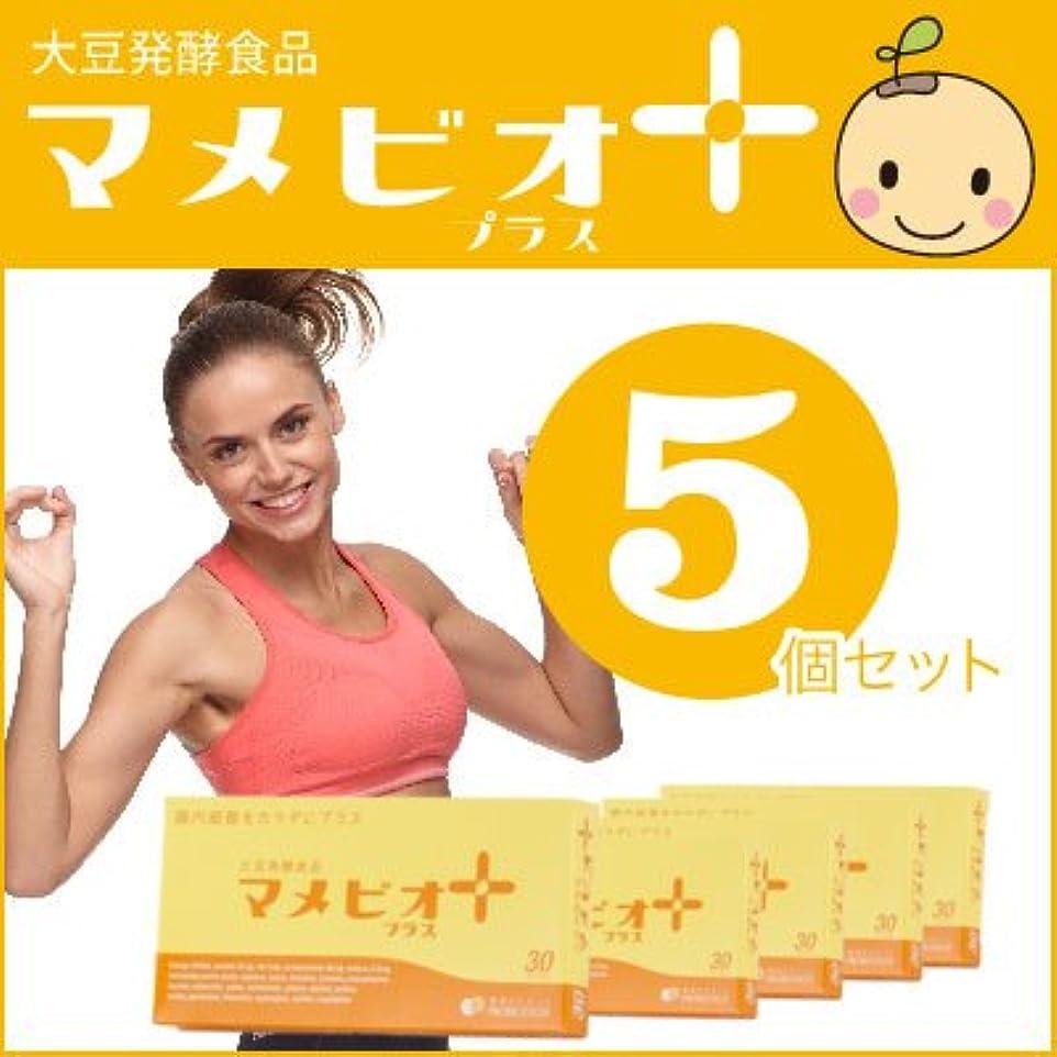 ランチ伝記キャビン大豆発酵食品マメビオ プラス 5個セット