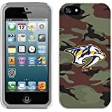 iPhone sE / 5 / 5s Guardian Case with NHL Nashville Predators、カラーデザイン ホワイト 784-7379-WG-FBC