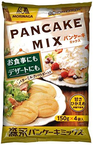 森永製菓 パンケーキミックス 600g(150g×4袋)