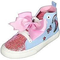 JoJo Siwa Girls High Top Fashion Sneakers (Little Kid/Big Kid)