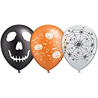 Peoples Party ハロウィン ブラックトーン デザイン 風船 20個セット 3タイプ Halloween