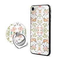デンバーiPhone 7/8 ケース リング付き 人気 スタンド機能 ソフト 薄い 携帯カバー アイフォン 7/8 ケース