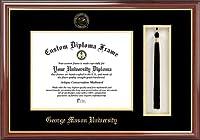 Campus Image VA997PMHGT George Mason University Tassel Box and Diploma Frame