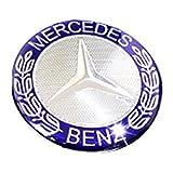 【 ベンツ コントローラ ステッカー 】 Mercedes Benz メルセデス ベンツ アクセサリー インテ リア 成形 ハンドル エンブレム ロゴ ハンドル チューニング ステッカー 高高級で洗練されたデザイン E C GLC W205 W213 [並行輸入品]