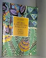 Art Deco Floral Patterns in Full Color (Picture Archives S.)