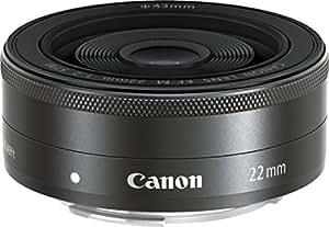 Canon 単焦点広角レンズ EF-M22mm F2 STM ミラーレス一眼対応
