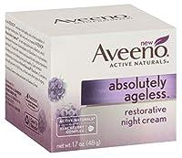 Aveeno 絶対にエイジレスナイトクリーム1.7オンス(50ml)中(2パック)