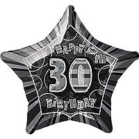 "20"" Foil Glitz Pink Star Birthday Balloon"