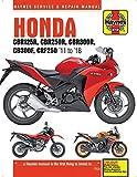 Honda CBR125R, CBR250R, CBR300$, CB300F & CRF250, '11 to '18: '11 to '18 (Haynes Automotive)