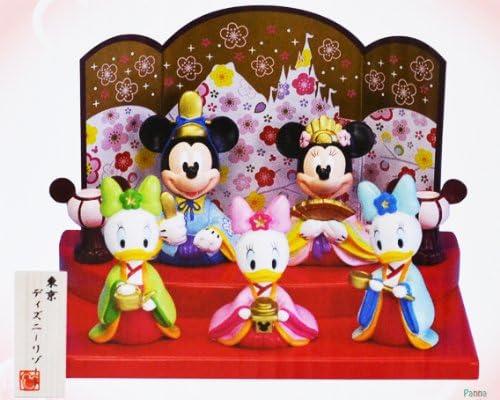 ミッキー ミニー ひな人形 雛人形 中 ドナルド ひな祭り ディズニー 東京ディズニーリゾート限定 Mickey Mouse Minnie Mouse Doll Limited in Tokyo Disney Resort