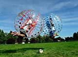 bubbleu24( TM ) 2ドットバブルボールパッケージfor LoopyボールバンパーボールSoccer Football Game大人用サイズ5'