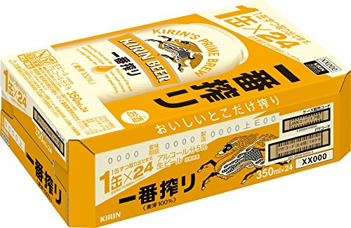 キリン 一番搾り [ 350ml×24本 ]