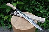 土佐鍛剣鉈 晶之作片刃 300 土佐オリジナル白鋼 130617-017