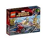 レゴ (LEGO) スーパー・ヒーローズ キャプテン・アメリカ(TM) アベンジングサイクル 6865