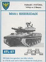 フリウルモデル 1/35 金属可動履帯 M551 シェリダン用 金属パーツ ATL-87