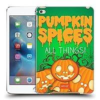オフィシャル emoji® パンプキン・スパイス ハロウィーン・パロディーズ iPad mini 4 専用ハードバックケース