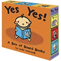 Yes Yes! A Box of Board Books (Leslie Patricelli board books)