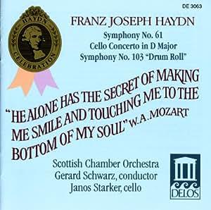 Symphonies 61 & 103 / Cello Concerto