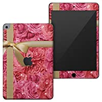 igsticker iPad mini 4 (2015) 5 (2019) 専用 全面スキンシール apple アップル アイパッド 第4世代 第5世代 A1538 A1550 A2124 A2126 A2133 シール フル ステッカー 保護シール 003149 ラブリー ラグジュアリー 花 リボン ピンク