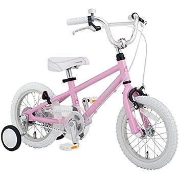 【完全組立出荷】Arcoba 子供用自転車 14インチ arcoba アルコバ 子供用自転車 幼児車 TEKTROブレーキ・ホワイトパーツ ハイクオリティー子ども用自転車 補助輪付 子供  可愛い 入学祝い 小学校 女の子 入園祝い (ピンク)