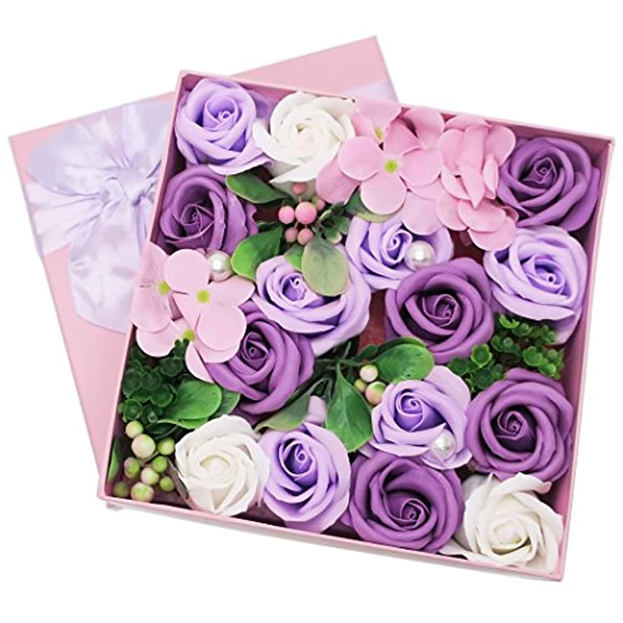 アラスカチョコレート罰ポピー名古屋(Poppy Nagoya) 造花 ブルー 20×20×9cm