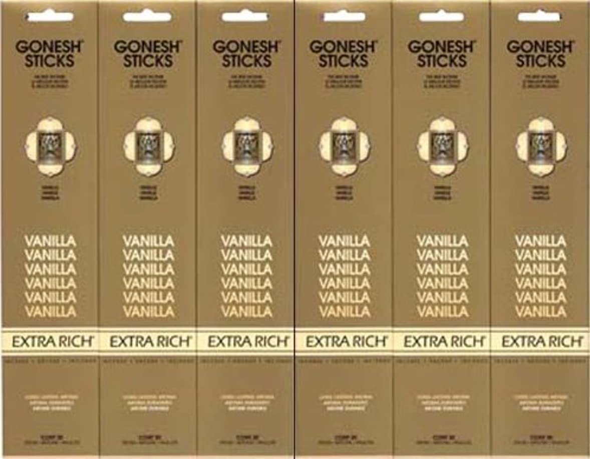 拳褒賞おとこGONESH  VANILLA バニラ  20本入り X 6パック (120本)