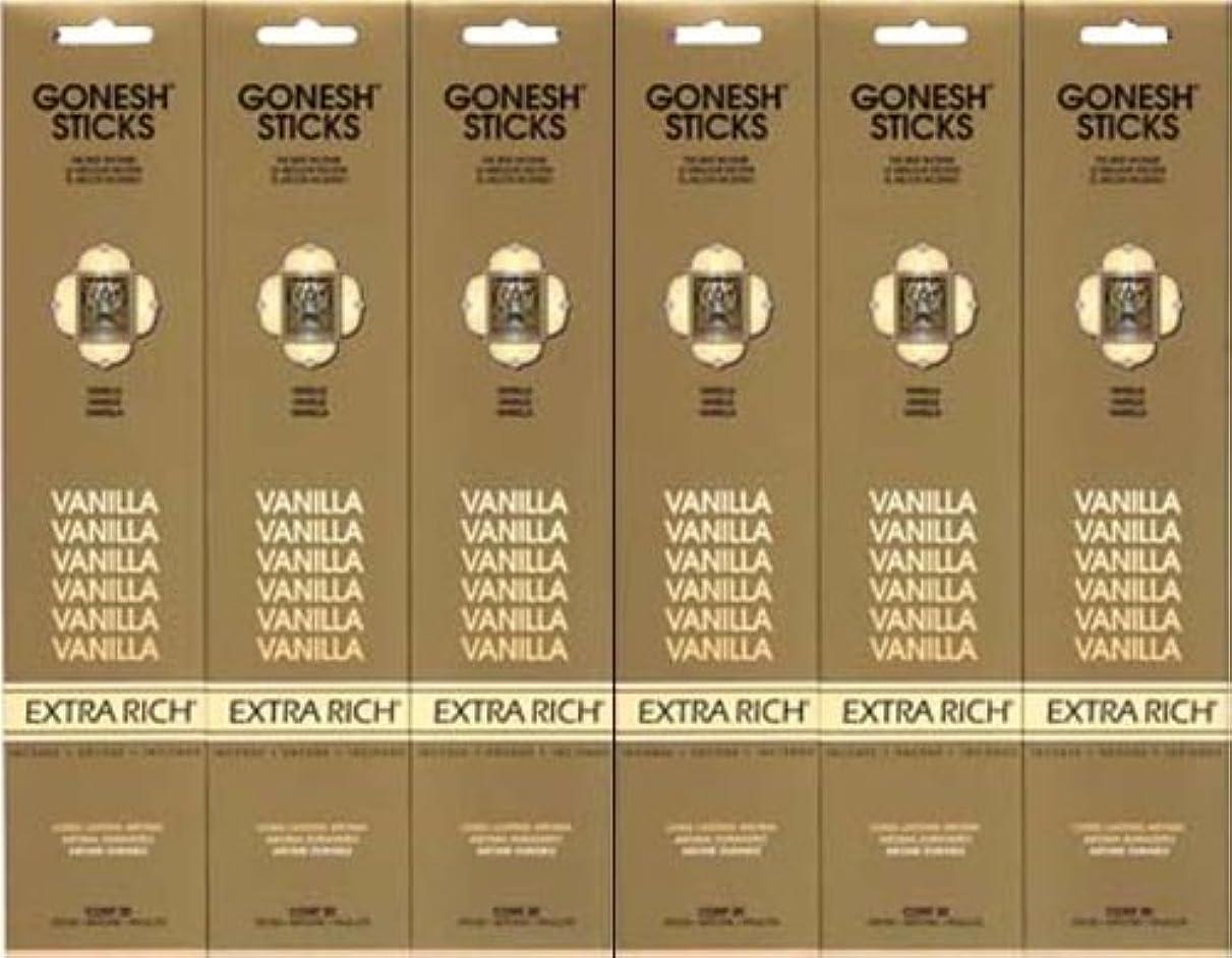 アナニバー彼はクラシックGONESH  VANILLA バニラ  20本入り X 6パック (120本)