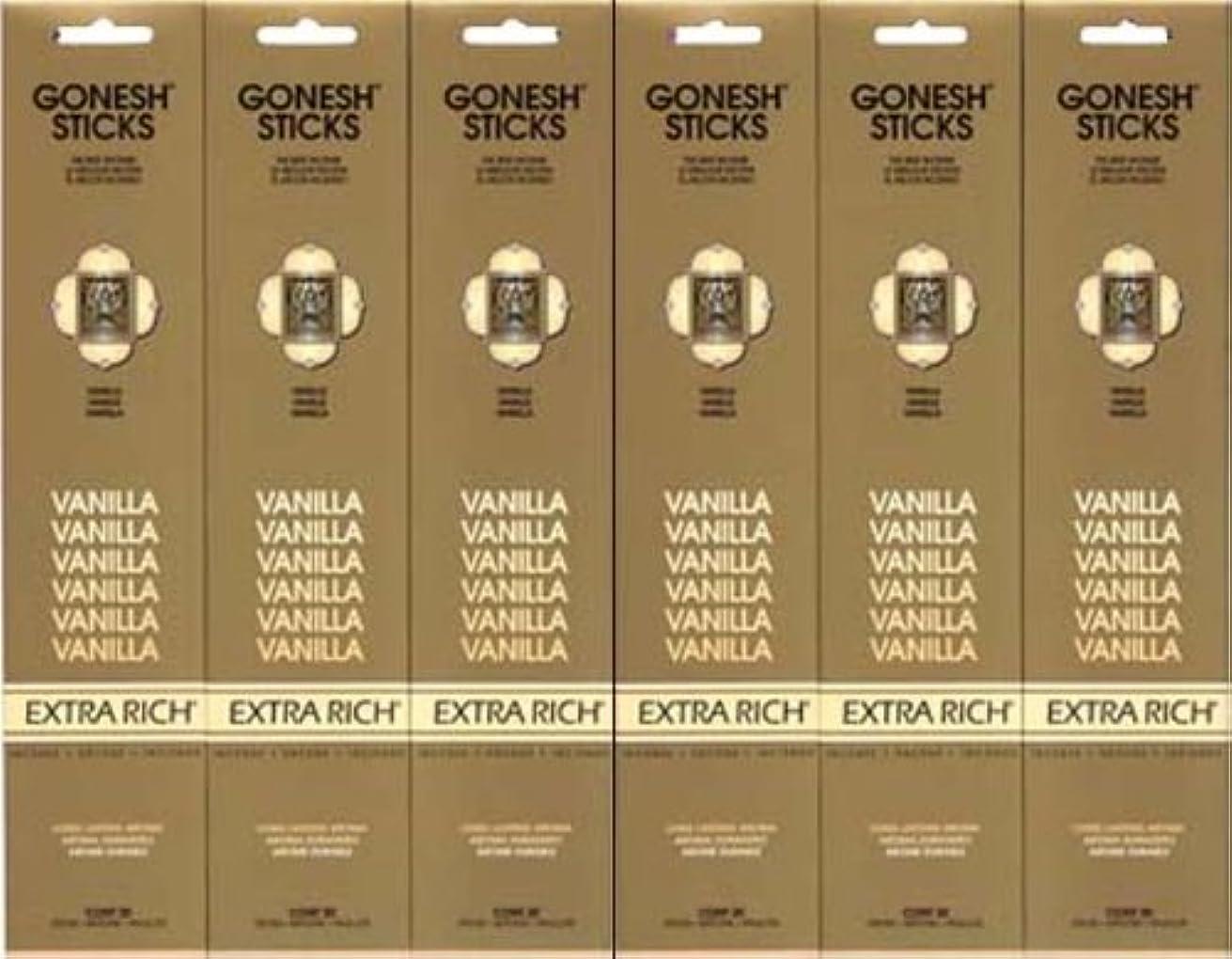 黒板円形のパスタGONESH  VANILLA バニラ  20本入り X 6パック (120本)